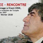 SOIREE - RENCONTRE en hommage à Hrant Dink